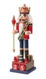 Щелкунчик античного рождества королевский Стоковое фото RF