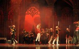 Щелкунчик внезапно будет большле, команда марионетки и армия мыши запустила войну - Щелкунчик балета Стоковые Изображения