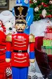 Щелкунчик времени рождества стоковое изображение rf