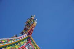 щипец Китайск-стиля Стоковые Изображения