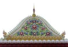 Щипец тайского королевского посвящения Hall от Nonthaburi стоковое фото