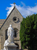 Щипец церков стоковое фото