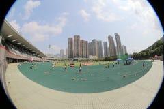 6-ые игры Гонконга на земле спорта tko Стоковые Фото