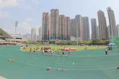 6-ые игры Гонконга на земле спорта tko Стоковое Изображение