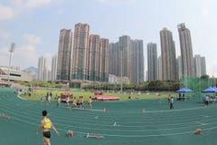6-ые игры Гонконга на земле спорта tko Стоковые Изображения