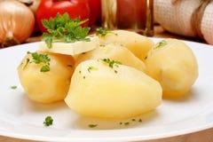 ые картошки петрушки масла Стоковые Изображения