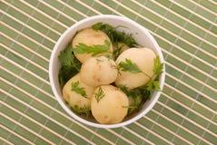 ые картошки петрушки Стоковое Изображение