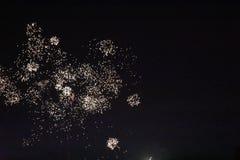 4-ые феиэрверки июль Стоковые Изображения RF