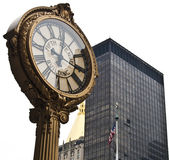 5-ые Часы бульвара Стоковые Изображения RF