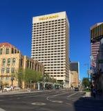 1-ые Ave и St Jefferson, Феникс, AZ Стоковые Фотографии RF