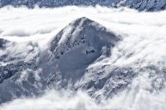 лыжа курорта alps Стоковое Изображение