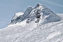 лыжа курорта alps Стоковые Фотографии RF