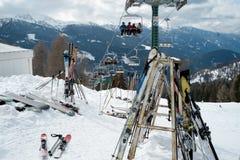 лыжа Стоковое Фото