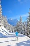 лыжа schladming курорта Австралии Австралии Стоковое Фото