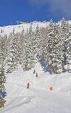 лыжа schladming курорта Австралии Австралии Стоковое Изображение