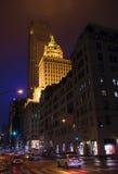 5-ый бульвар на ноче Стоковые Фото