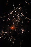 14-ый из фейерверков в июле Стоковые Изображения RF