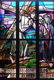 4-ый крестный путь, Иисус встречает его мать Стоковое фото RF