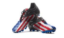 4-ый патриотизм США в июле американского флага Стоковое Изображение