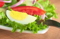 ый салат яичка свежий Стоковые Изображения