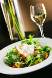 ый салат яичка стоковое фото rf