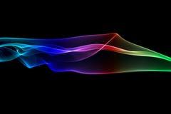 дым абстрактного искусства Стоковая Фотография