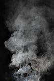дым предпосылки черный Стоковое фото RF