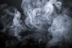 дым предпосылки черный defocused тонизировано Стоковое Изображение