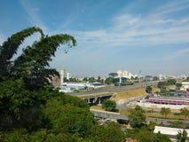 23-ье мая 2018, dos Campos São José, São Paulo, Бразилия, взгляд шоссе Presidente Dutra стоковые изображения