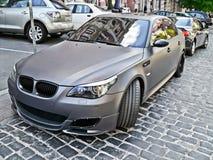 3-ье ноября 2013 Киев, Украина; BMW M5 стоковая фотография