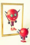 дьявол немногая Стоковое фото RF