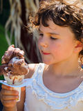льдед конуса cream Стоковые Фото