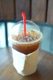 льдед кофе americano вкусный Стоковое фото RF