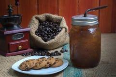 льдед кофе americano вкусный Стоковое Изображение