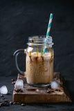 льдед сливк кофе Стоковое фото RF