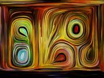 Эволюционируя движение цвета стоковое изображение rf