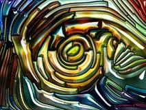 Эволюционируя радужное стекло бесплатная иллюстрация