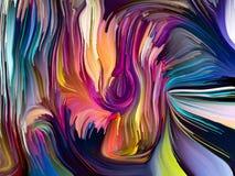 Эволюционируя сплавленные цвета бесплатная иллюстрация