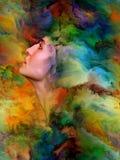 Эволюционируя эмоции Стоковые Изображения