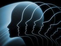 Эволюционируя геометрия души Стоковые Фотографии RF