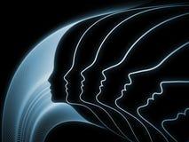 Эволюционируя геометрия души Стоковая Фотография RF