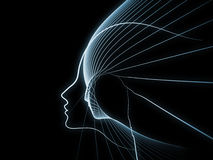 Эволюционируя геометрия души Стоковые Фото