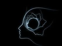 Эволюционируя геометрия души Стоковое Изображение