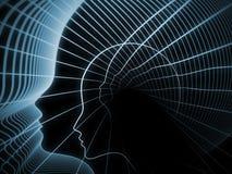 Эволюционируя геометрия души Стоковые Изображения