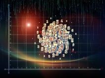 Эволюционируя геометрия Стоковая Фотография RF