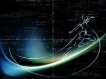 Эволюционируя геометрия Стоковые Изображения RF