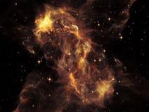 Эволюционируя космос стоковое изображение rf