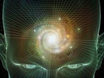 Эволюционируя разум Стоковые Изображения