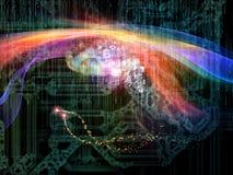 Эволюционируя технология Стоковое Изображение