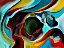 Эволюционируя формы разума Стоковые Изображения